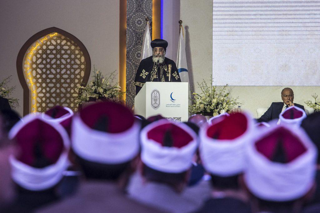 Egypt- Pope Tawadros II