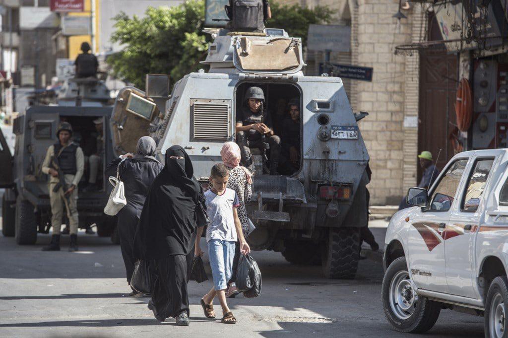 Egypt Sinai terrorism policemen