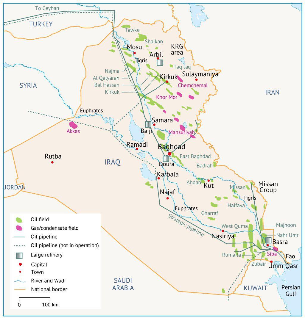 Irak Map 01