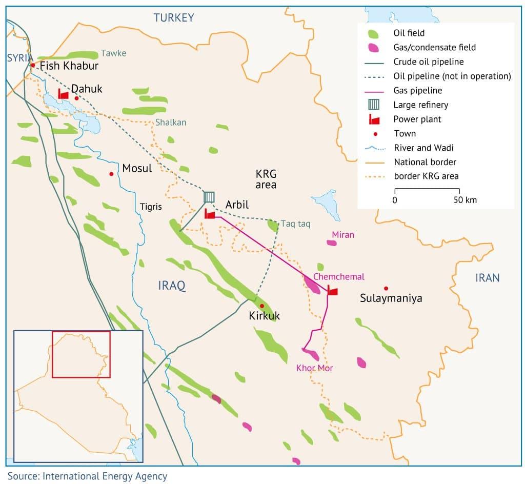 Irak Map 03
