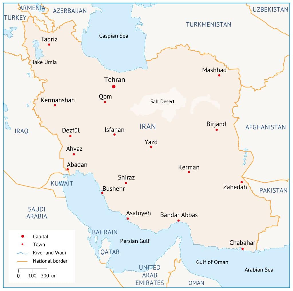Iran Map 01groot