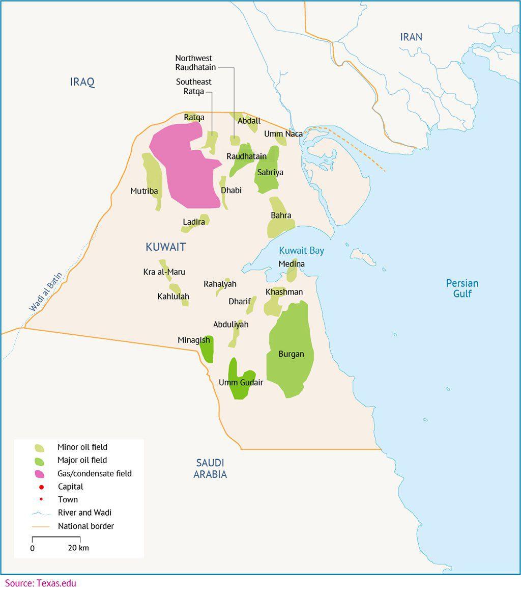 Kuwait Map 01 1024