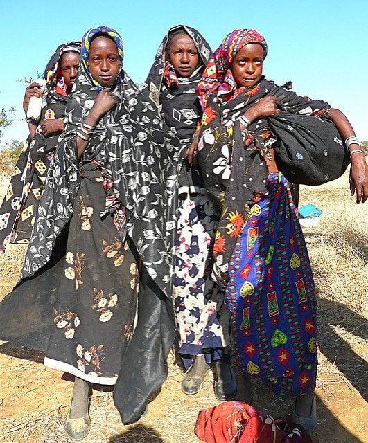 السكان السودان الفولانيين في منطقة النوبة