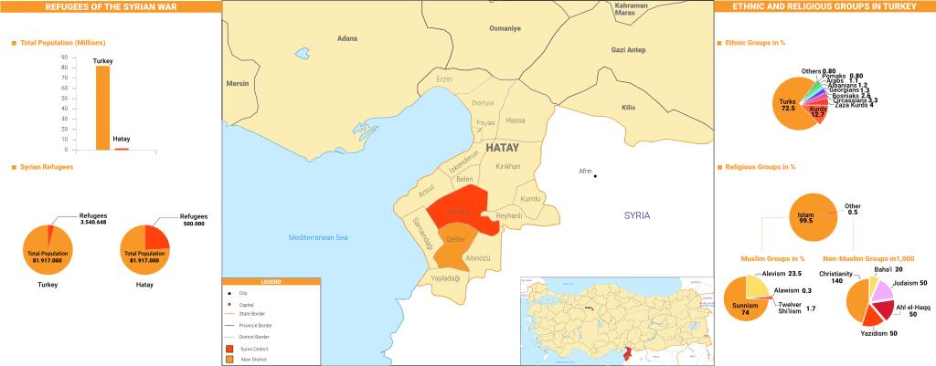 Hatay Map 1024