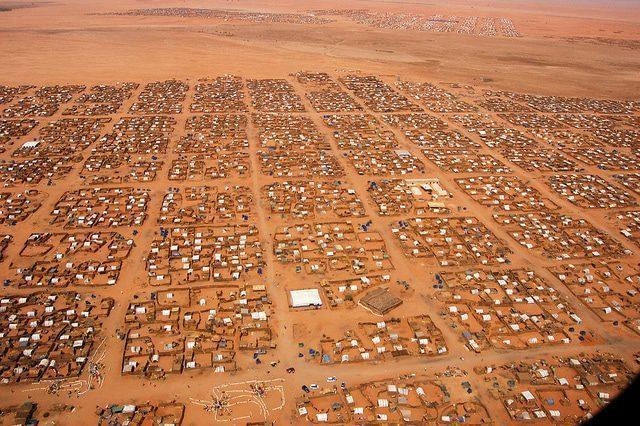 السكان السودان مخيم أبو شوك