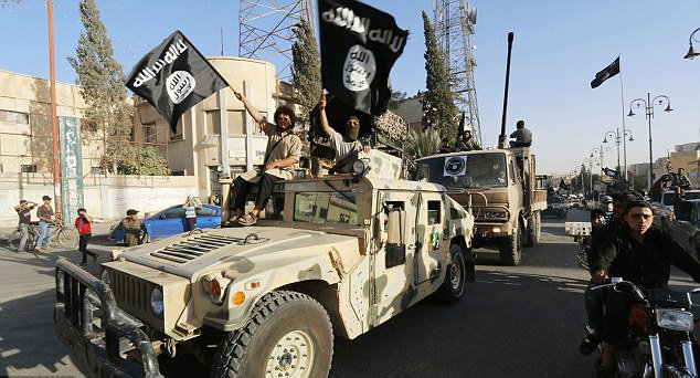 The IS Conquest of Parts of Iraq and Syria