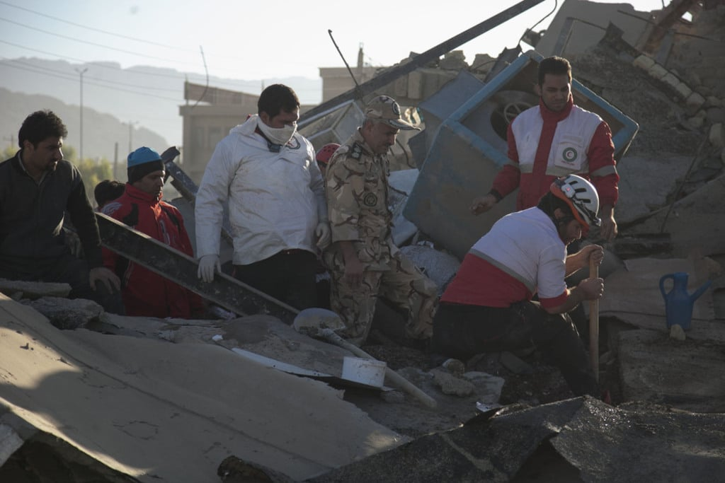 Iran- Earthquake in Iran