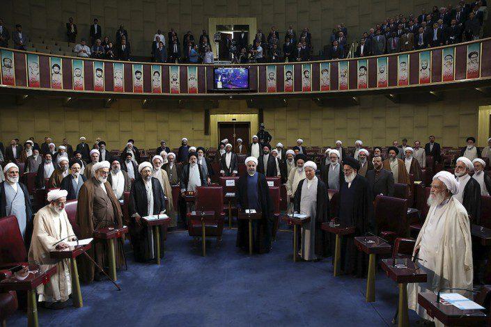 الإنتخابات الإيرانية Assembly of Experts Inauguration