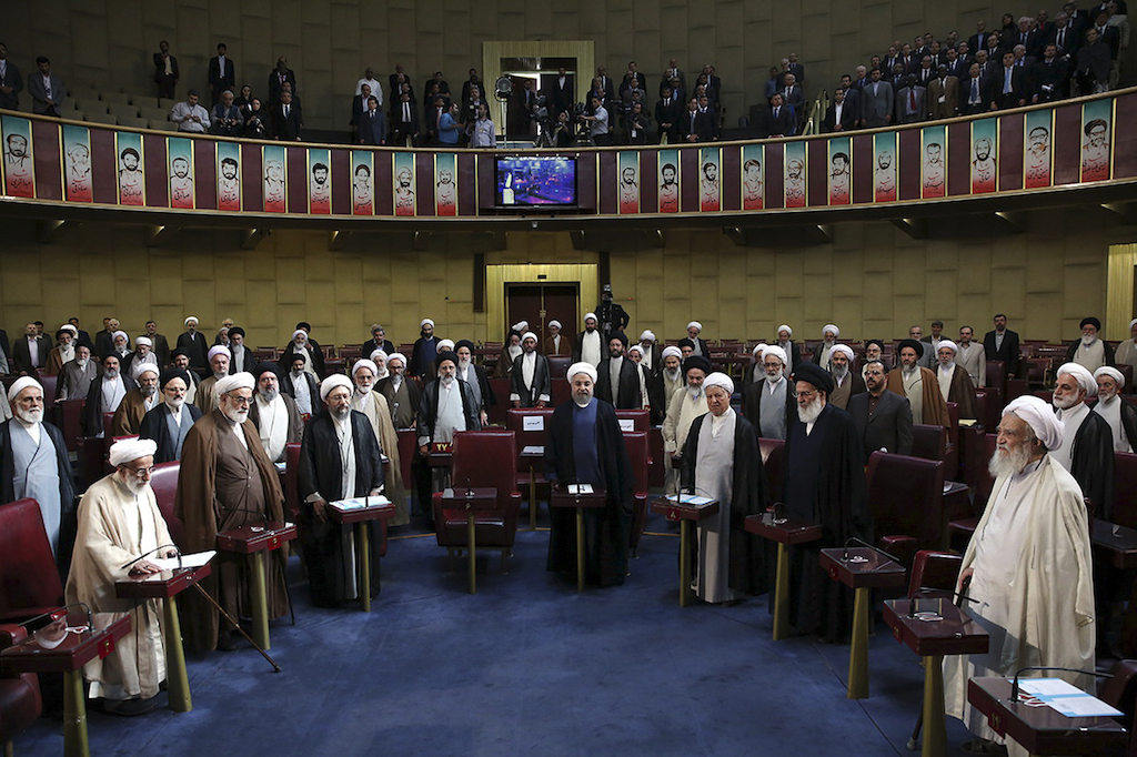 Iran Elections Assembly of Experts Inauguration