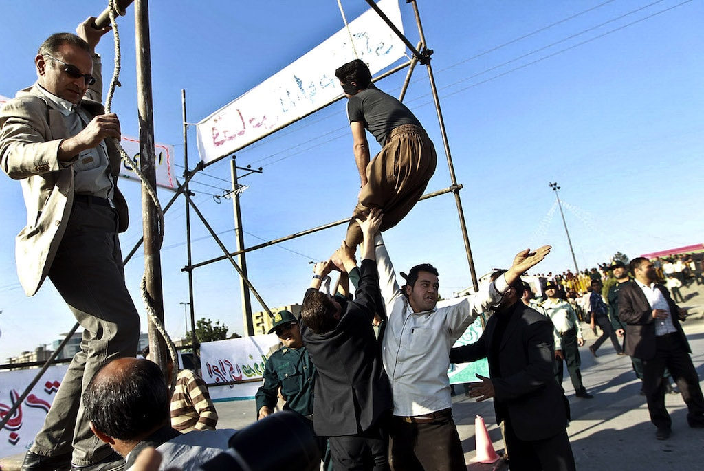 Human Rights  execution Iran