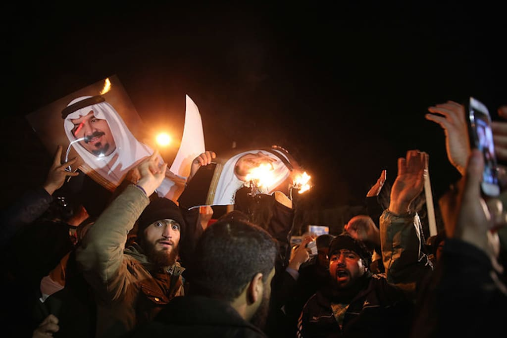 Iran Protest Saudi Execution - Scroll Editorial