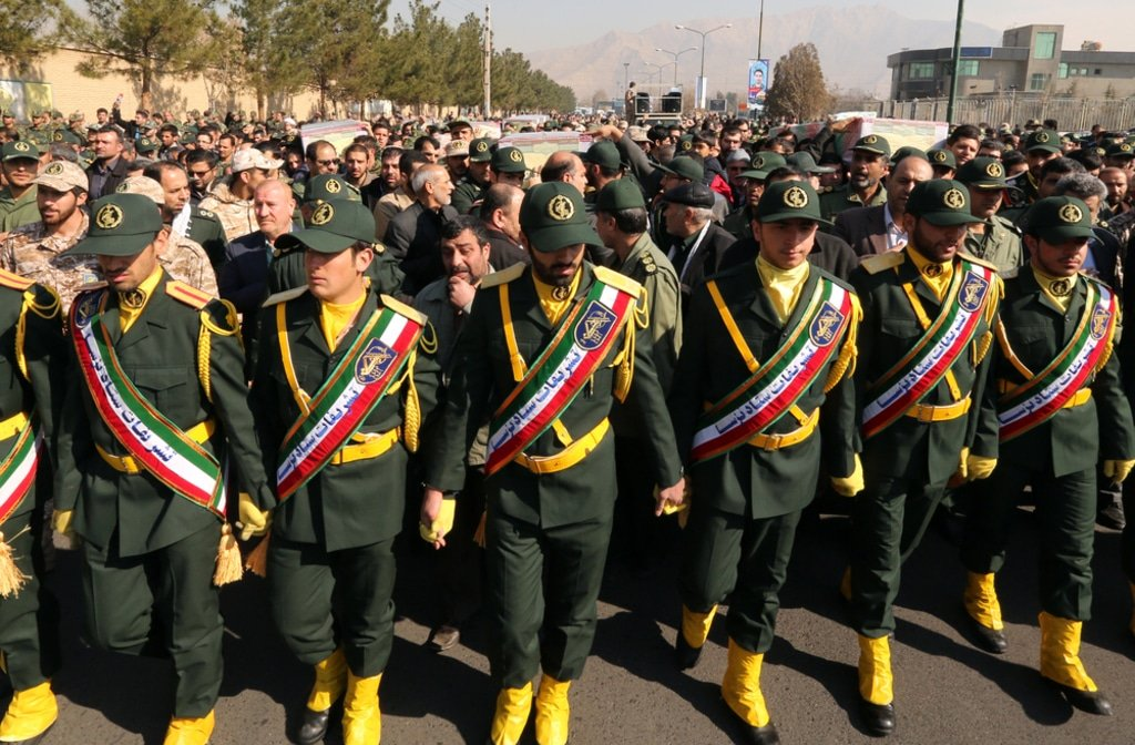 Iran- Iranian Revolutionary Guard