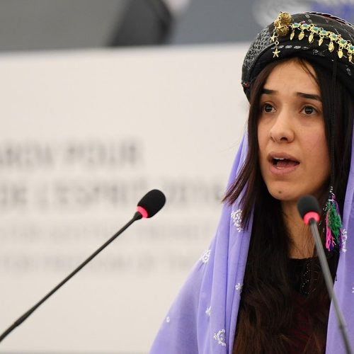 نادية مراد: من سبيةٍ لدى داعش إلى الفائزة بجائزة نوبل للسلام عام 2018