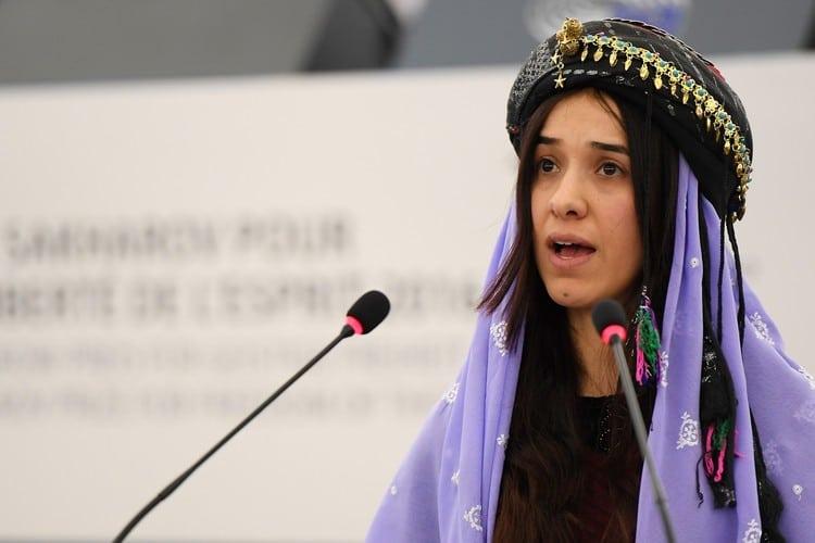 Nadia Murad, Former IS Sex Slave and 2018 Nobel Peace Prize Winner