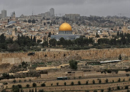 Cable Car Scheme Sparks New Row Over Jerusalem's Holy Sites