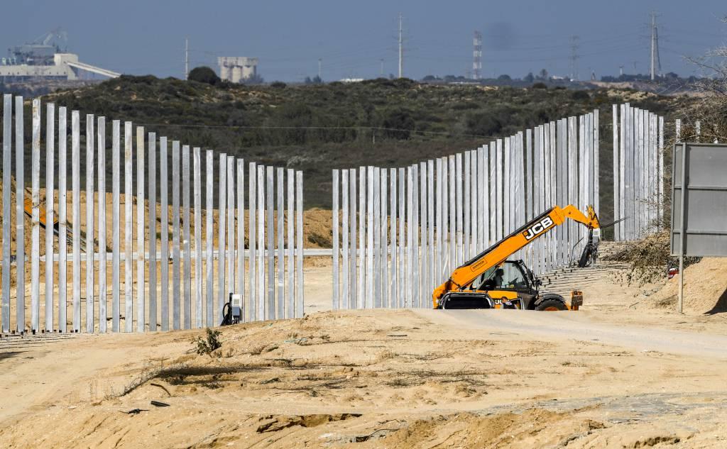 Israel- Gaza fence