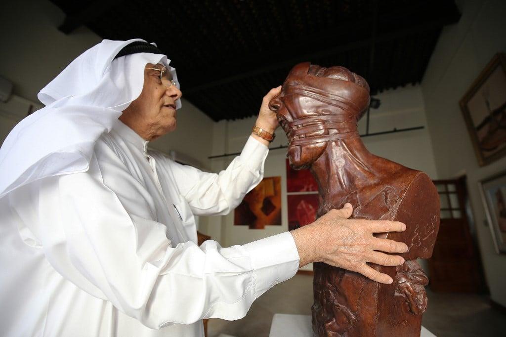 Sami Mohammed sculptor Kuwait culture