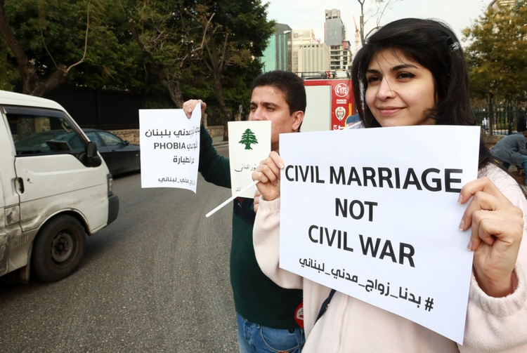 In Lebanon, Civil Marriage Returns in the Public Debate