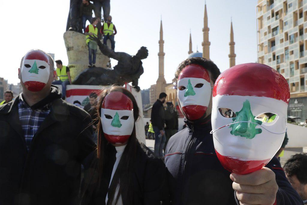 Lebanon- protests lebanon