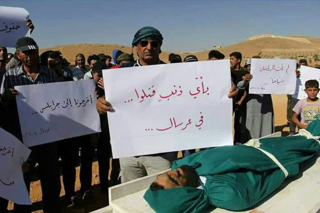 Lebanon-human rights- Syrian refugees in Arsal