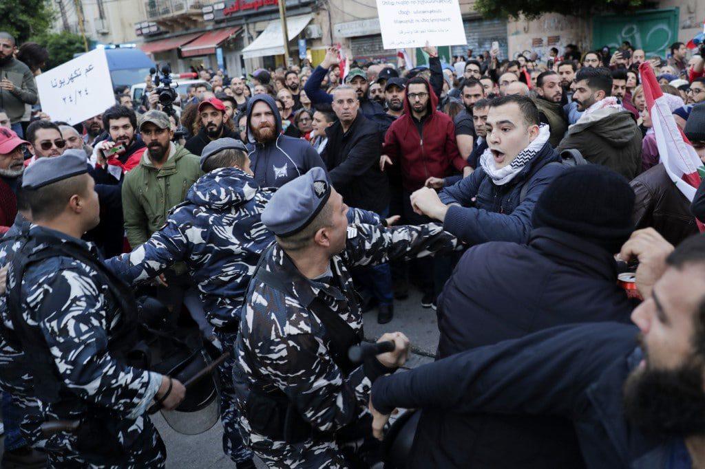 Lebanon demos