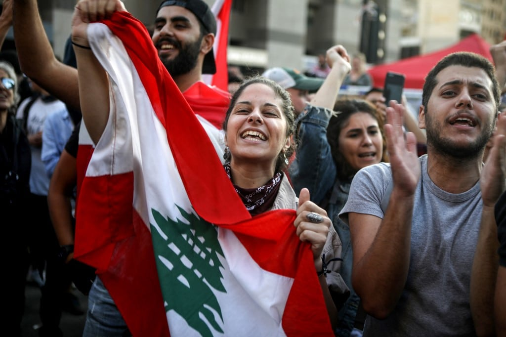 Protests in lebanon