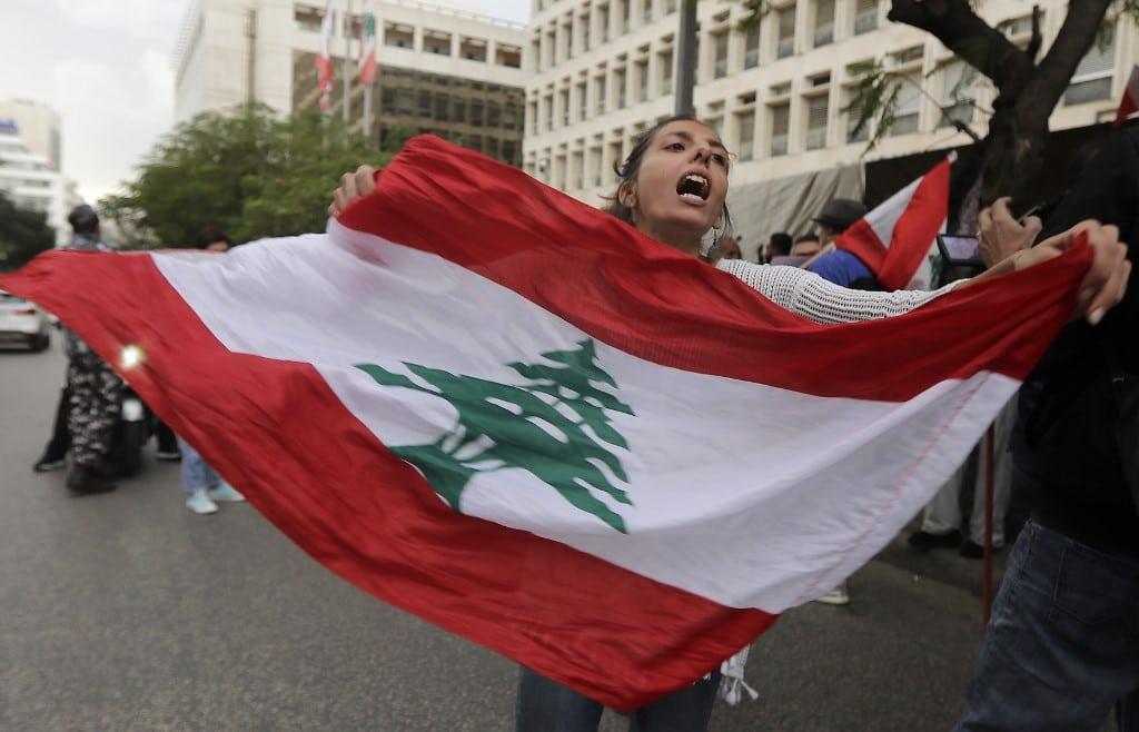 Protests lebanon