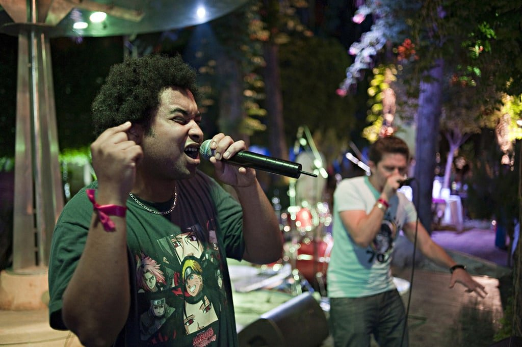 Lebanon- Lebanese rapper Edouard Abbas
