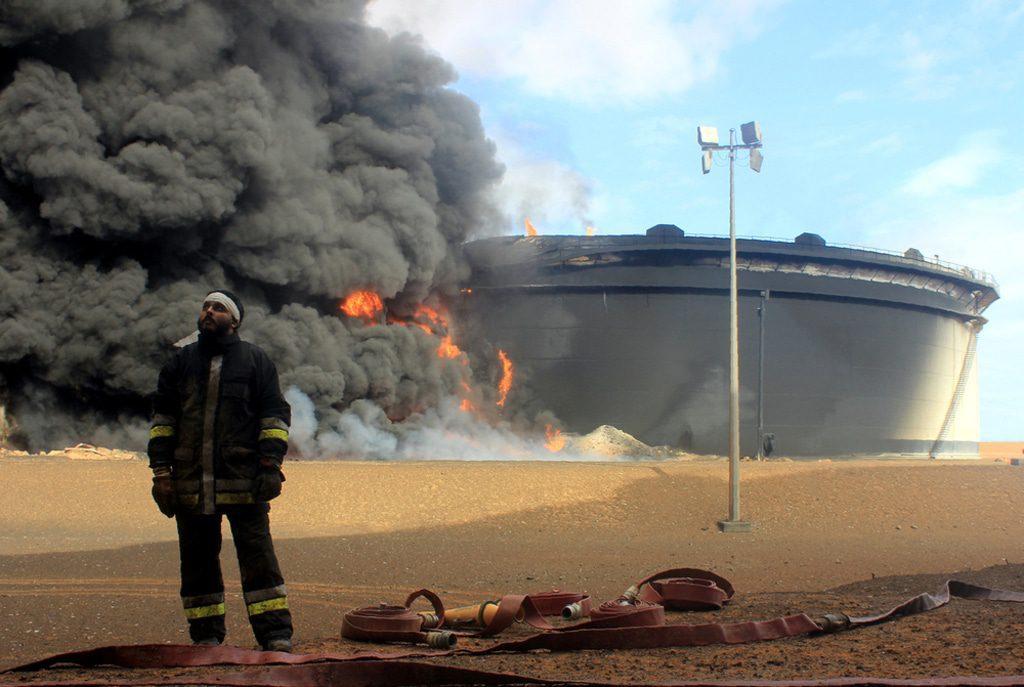 Libya- Ras Lanouf