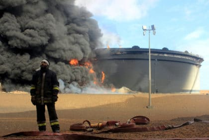 A Theatre of conflict in Libya's oil crescent