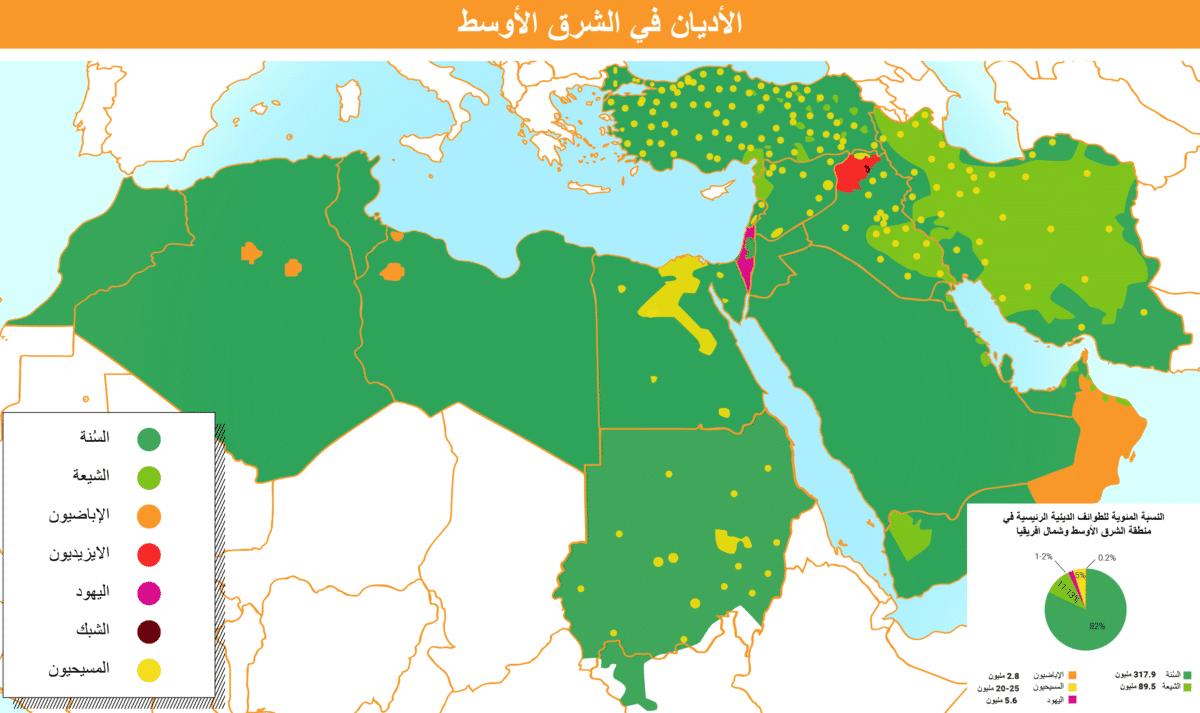مسابقة حول أديان الشرق الأوسط وشمال أفريقيا
