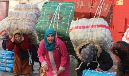 النساء الحمّالات في المغرب: ما بين اللامبالاة المغربية والإتجار المنظم في اسبانيا