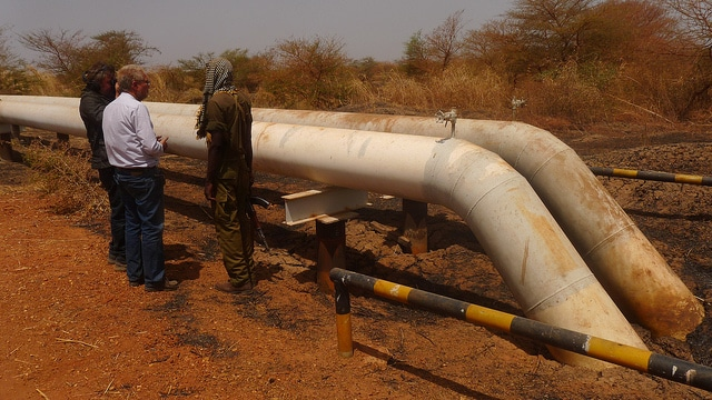 oil transport Sudan Economy