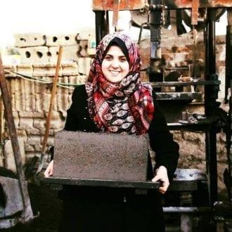 مجد المشهرواي: المهندسة الفلسطينية التي حولت الرماد إلي طوب بناء
