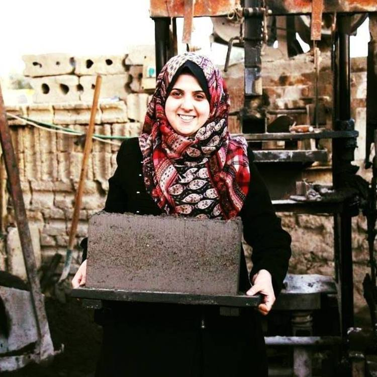 Majd al-Mashharawi, the Palestinian Engineer Making Bricks Out of Ash