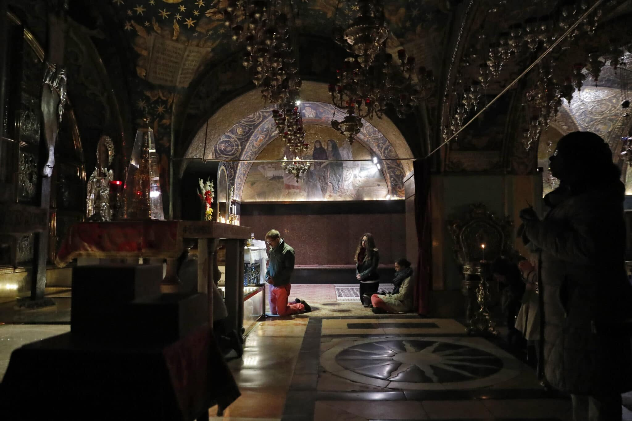 Palestine- Church of the Holy Sepulchre