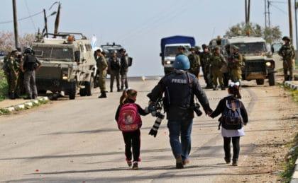 الإعلام في فلسطين