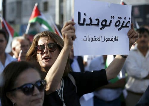 Demonstrations in Ramallah and Gaza – Message to Palestinian Leadership