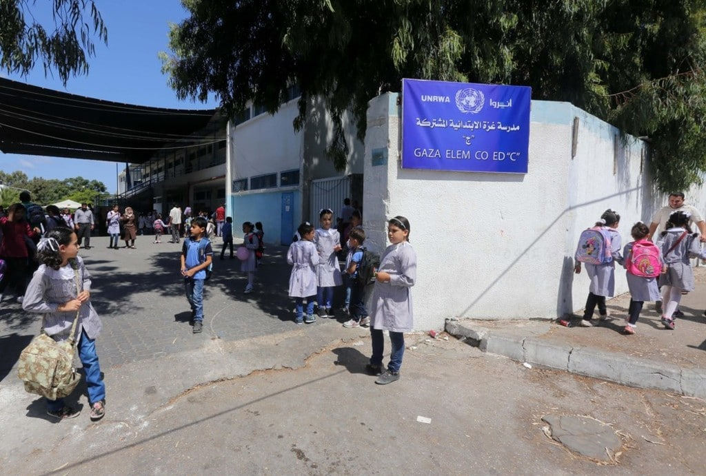 pupils-in-UNRWA-school