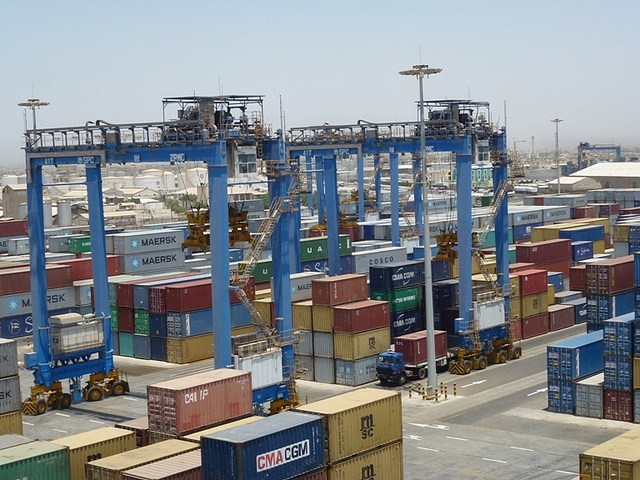 Port Sudan harbor Economy