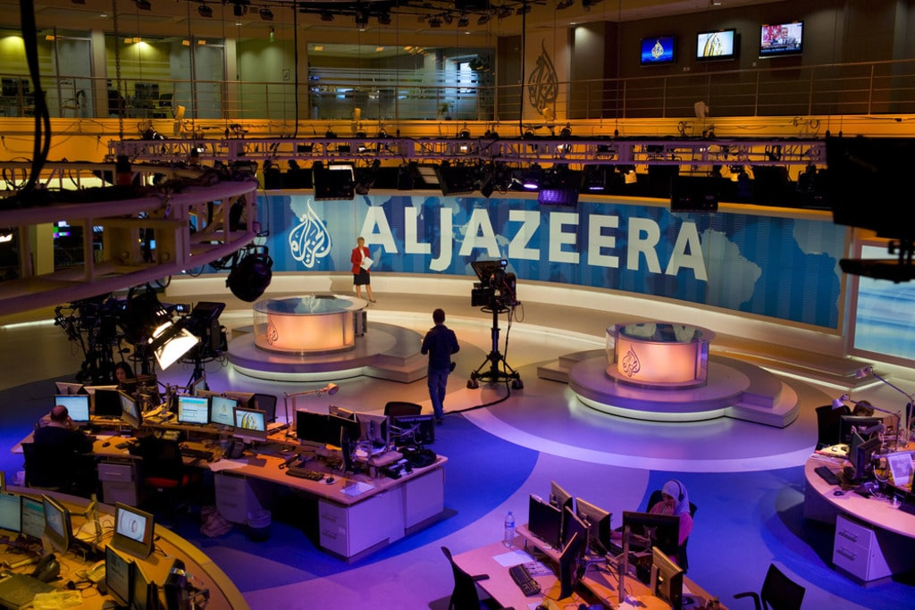 Qatar- Al-Jazeera headquarters