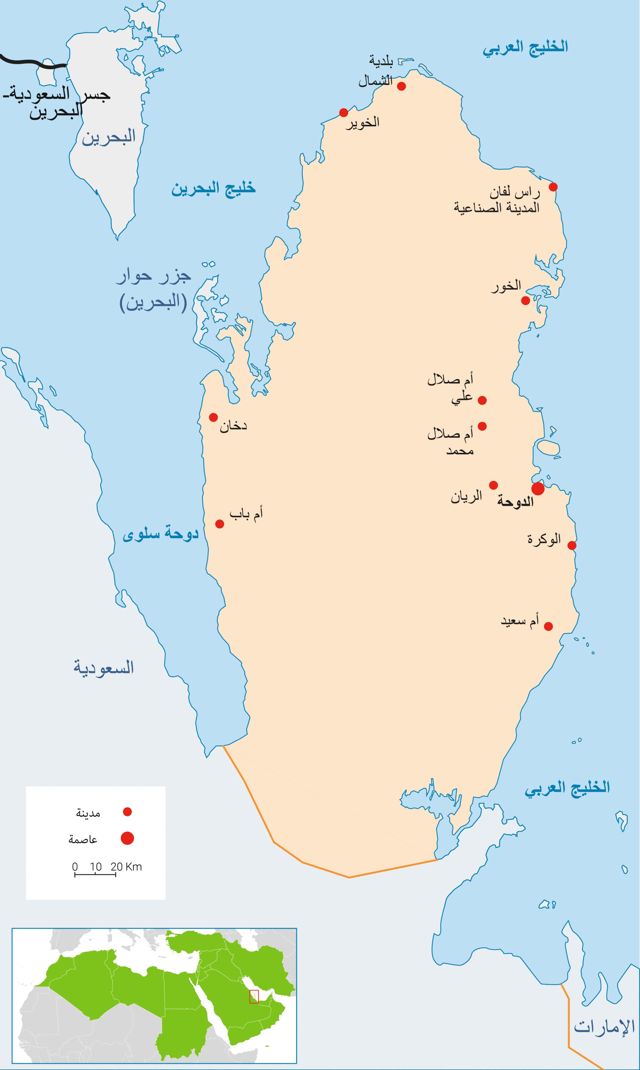 Qatar Energy Map AR 3000