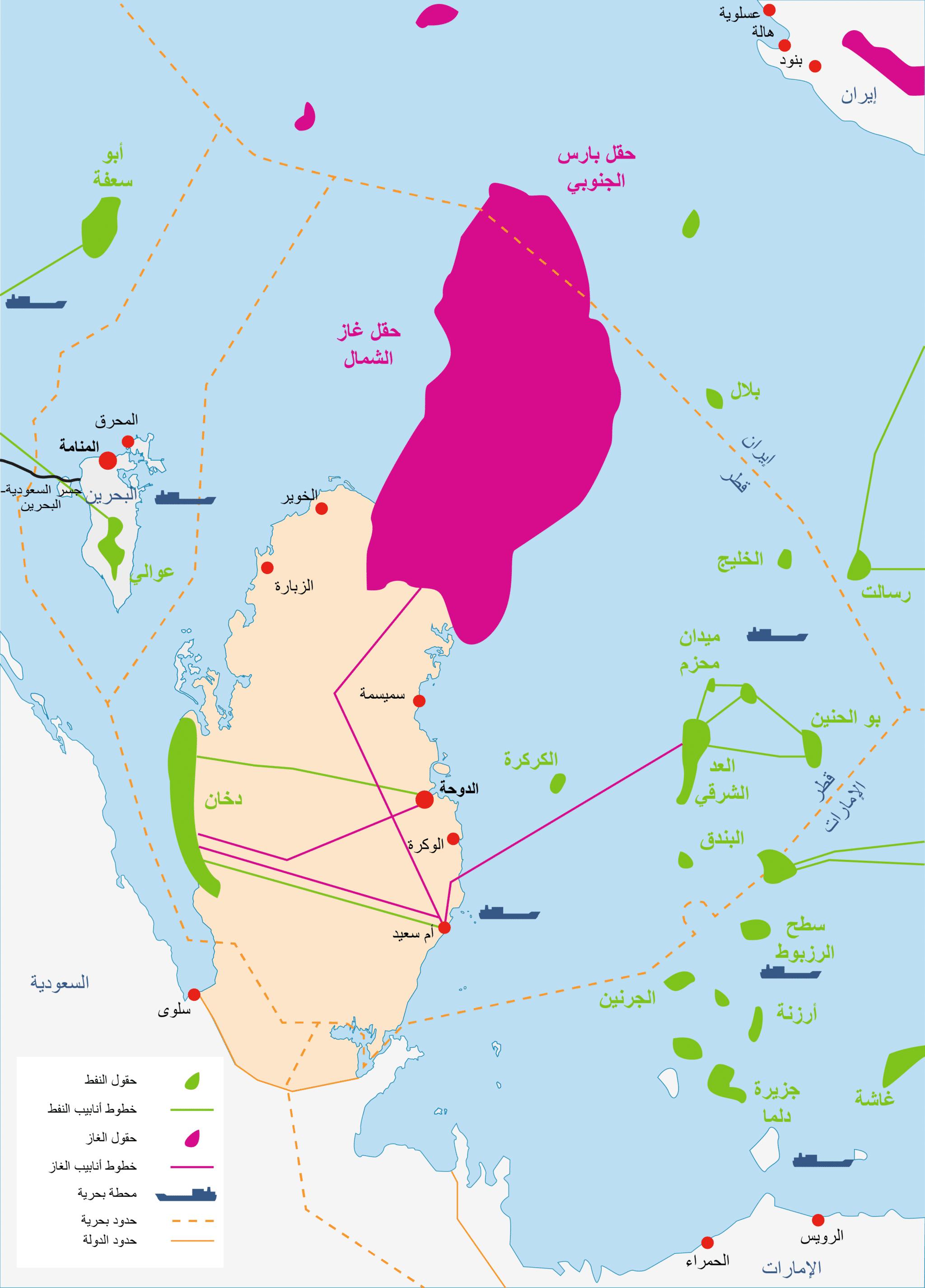 Qatar Energy oil and gas AR 3000