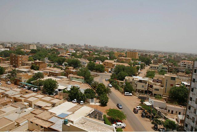السكان السودان أحياء الخرطوم الفقيرة