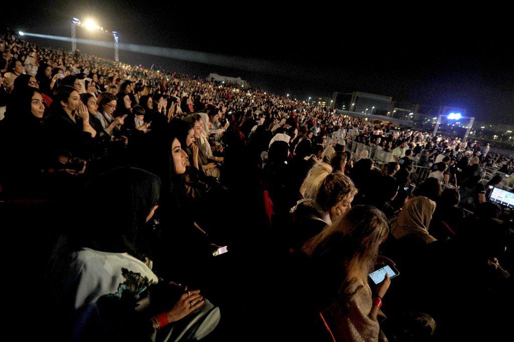 Saudi Arabia- Saudi concert Jeddah