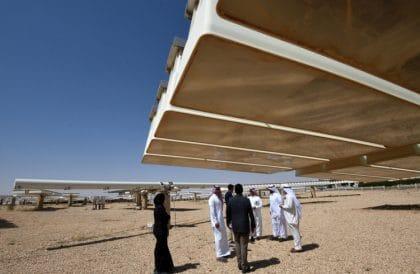 Enormous Solar Plant Central to Saudi Arabia's Vision 2030