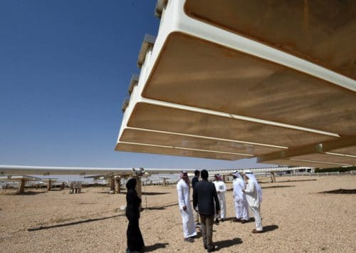 Enormous Solar Plant Central to Saudi Arabia's Vision 2030