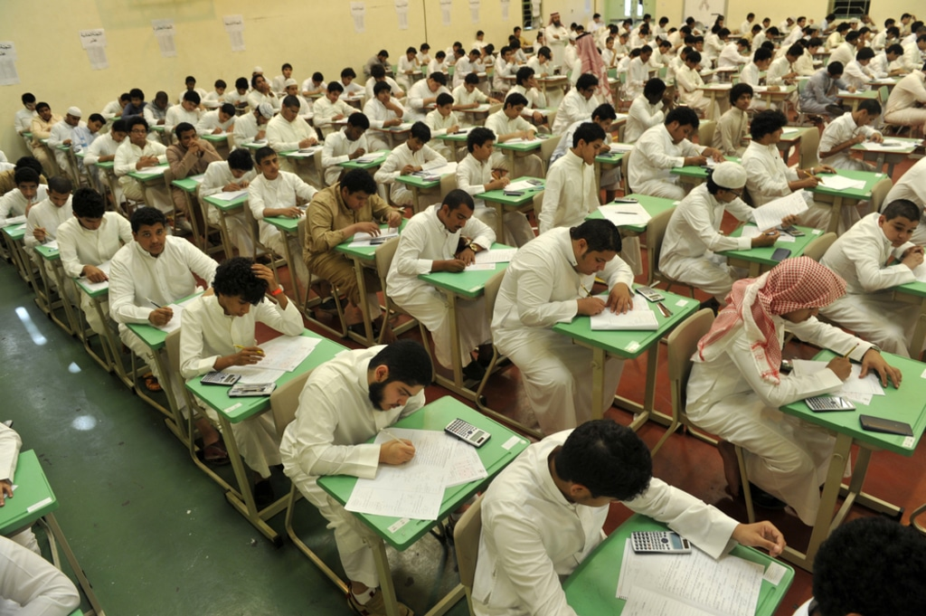 Saudi Arabia- Saudi students