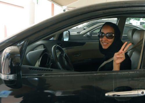 المرأة السعودية تفوز بحقها في القيادة
