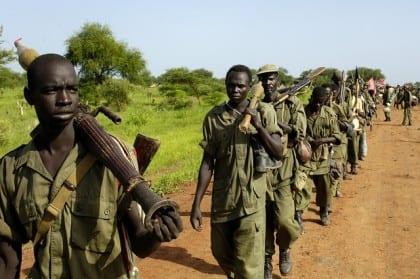 Sudan People's Liberation Army Governance